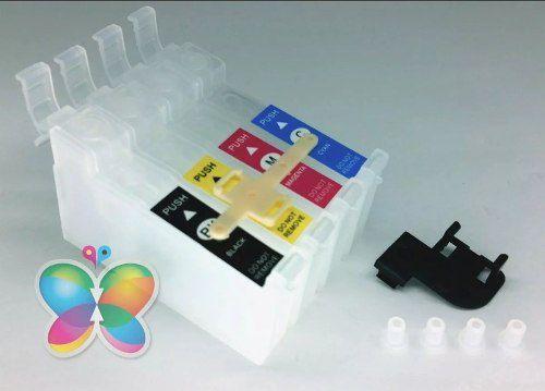 Kit Com 120 Cartuchos De Reposição de Bulk Ink Para Epson