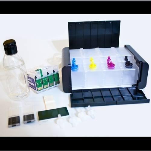 Bulk Ink Para Epson C67 C87 Cx4700 - Luxo + Tinta Pigmentada