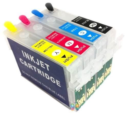 Cartucho Recarregável Tx115 Tx105 T24 T23 + Tinta Pigmentada