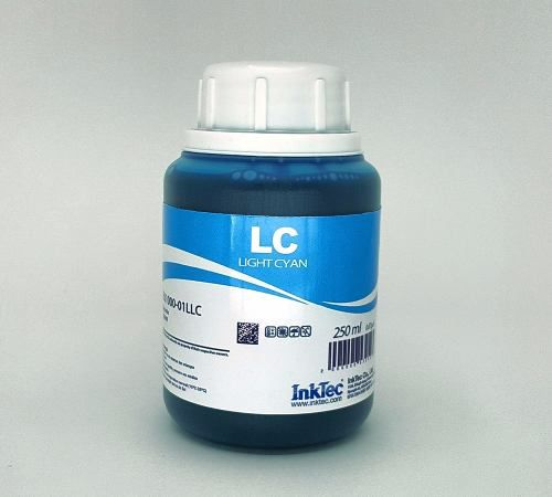250 Ml - Tinta Corante Inktec Epson - Light Cyan - Eu1000