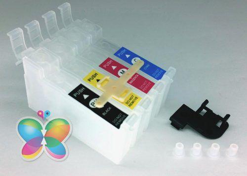 Kit Com 4 Cartuchos De Reposição de Bulk Ink Para Epson