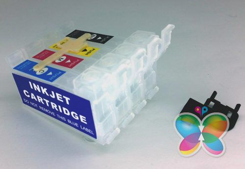Kit Com 4 Cartuchos De Reposição Para Bulk Ink Epson