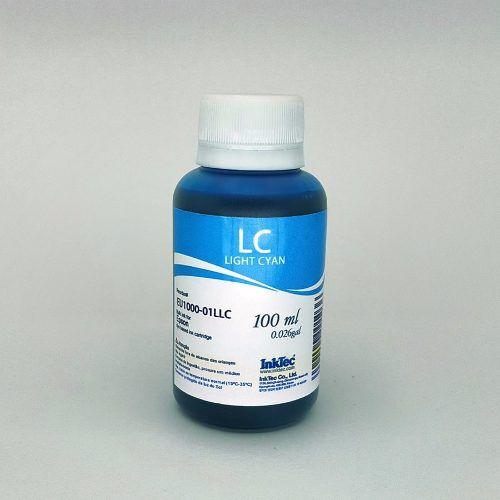 100 Ml - Tinta Corante Inktec Epson - Light Cyan - Eu1000 - Light Cyan