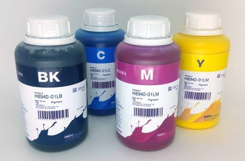 4 Frascos De 500 Ml - Tinta Pigmentada Inktec Hp - H8940