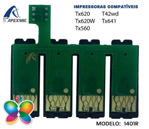 Chip Bulk Epson Tx620, Tx620w, Tx560, Tx641, T42w Ilimitado