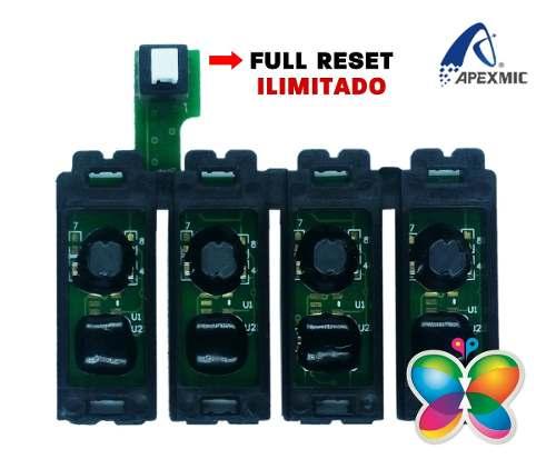 Chip Full Para Bulk Epson Tx105, Tx115, T23, T24 - Ilimitado