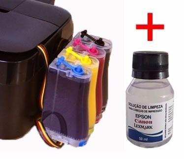 Bulk Ink Epson Tx200 Tx220 Tx400 + Tinta Sublimatica Inktec