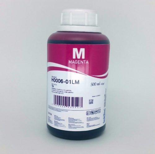 500 Ml - Tinta Corante Inktec Hp - Magenta - H0006 - Recarga - Magenta