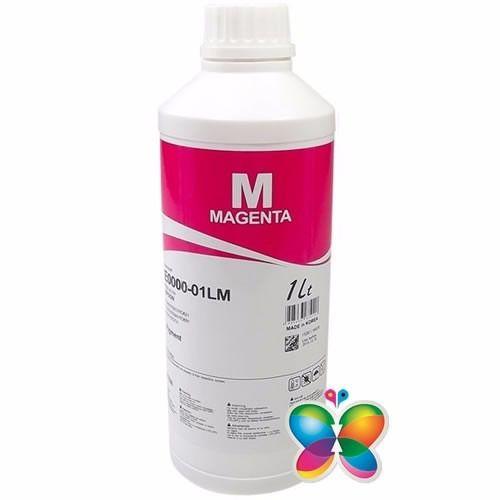 1 Litro Tinta Corante Inktec Hp - Magenta - H0006 - Recarga