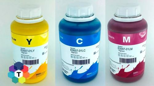 3 Frascos De 500 Ml - Tinta Pigmentada Inktec Epson - E0007