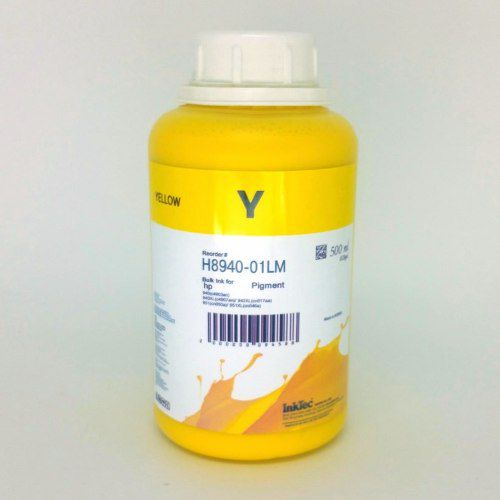 500 Ml - Tinta Pigmentada Inktec Hp Pro 8100 8600 - Yellow