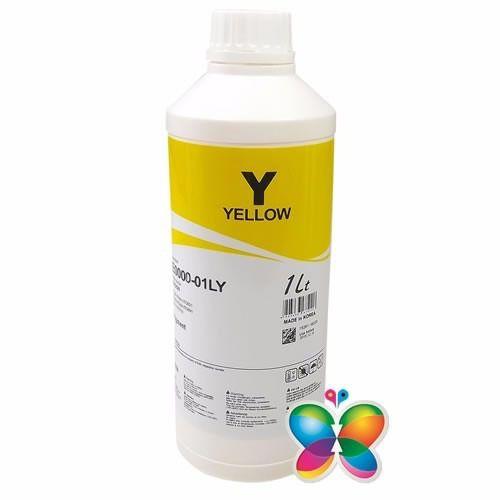 1 Litro - Tinta Pigmentada Inktec Hp Pro 8100 8600 - Yellow