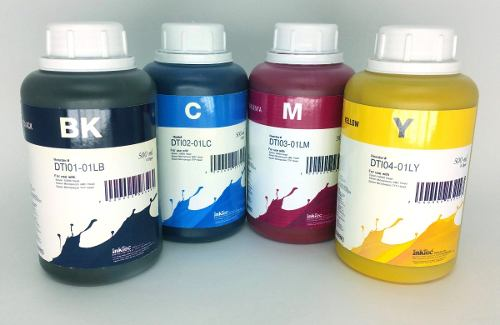 4 Frascos De 500 Ml De Kit Tinta Sublimática Inktec Original