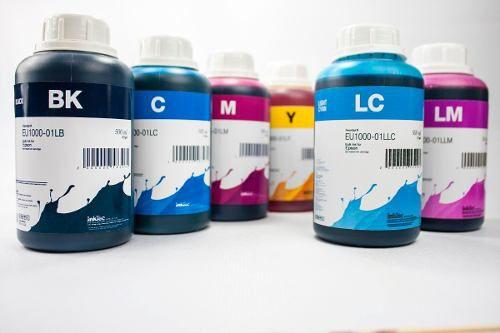 6 Frascos De 500 Ml - Tinta Corante Inktec Epson - Eu1000