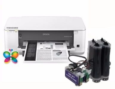 Bulk Ink Para Epson K101 K301 Mono + Kit Limpeza+ Tinta Inktec