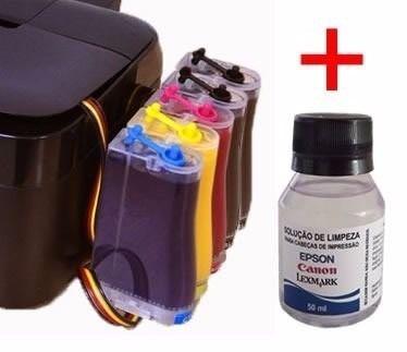 Bulk Ink Epson T1110 T33 + Kit Limpeza + Tinta Inktec