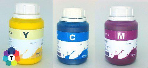 3 Frascos De 250 Ml - Tinta Pigmentada Inktec Epson - E0007
