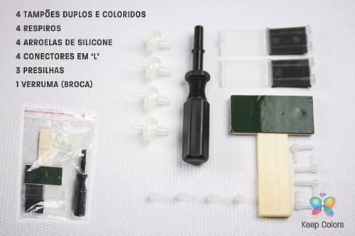 Reservatório P/ Bulk Ink Tipo Ecotank (caixa Preta) - 100ml