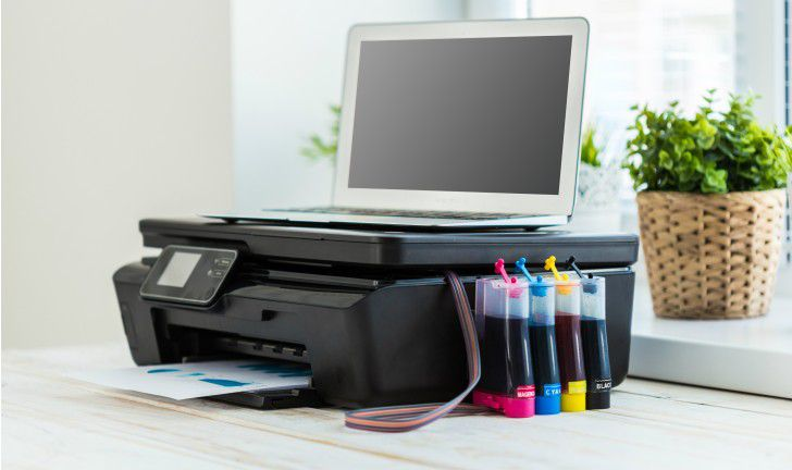 Instalação Bulk Ink Para Epson