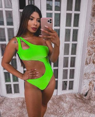 Body Anita Verde Neon