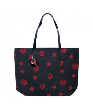 Bolsa Circulos Minnie Red