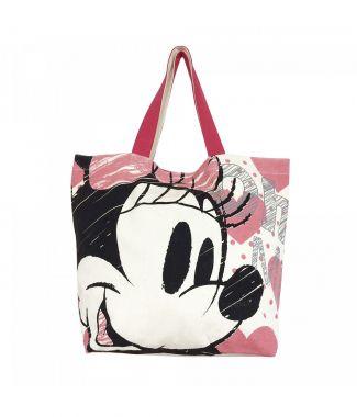 Bolsa Shopping Bag Corações Minnie
