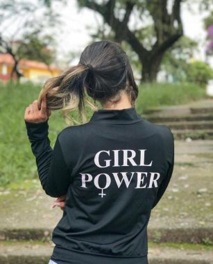 Bomber Girl Power