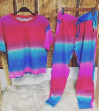 Conjunto tie dye III