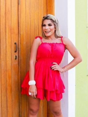 Macaquinho Ingrid Pink