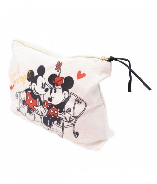 Nécessaire Mickey Minnie Namorando 25x18x6cm