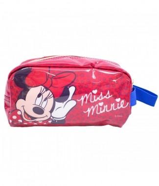 Nécessaire Vermelho Miss Minnie 23X11cm