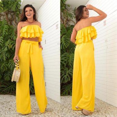 Pantalona Amarela