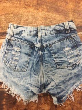 Shorts Desfiado Destroyed