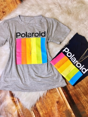 T- shirt Polaroid
