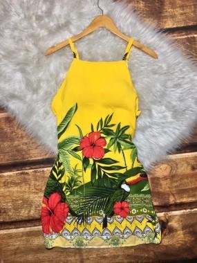Vestido Arara Amarelo