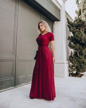 Vestido Bruna Liso