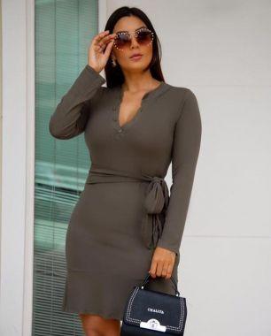 Vestido Chamise Liso