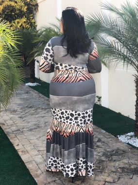 Vestido Isa Estampado