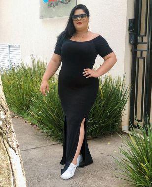 Vestido Rafaella Liso