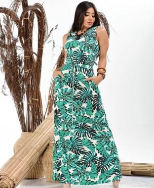 Vestido Regata Bolso
