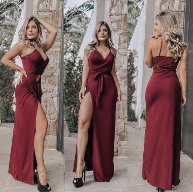 Vestido Vitoria Liso