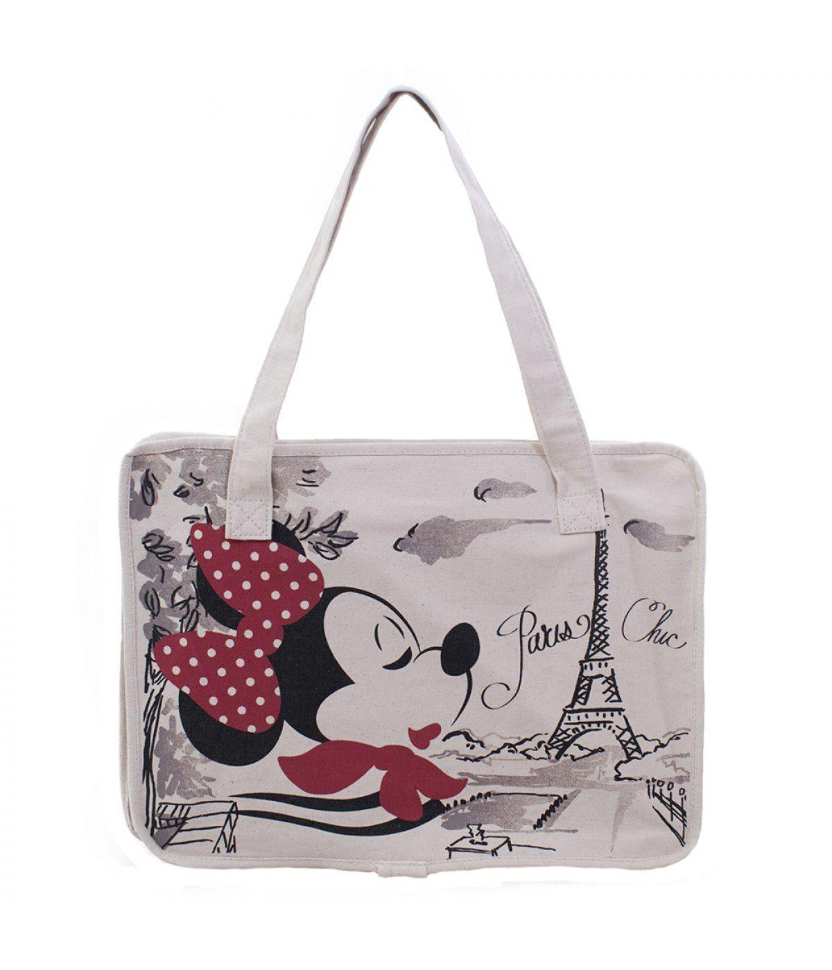 Bolsa Chic Minnie Em Paris