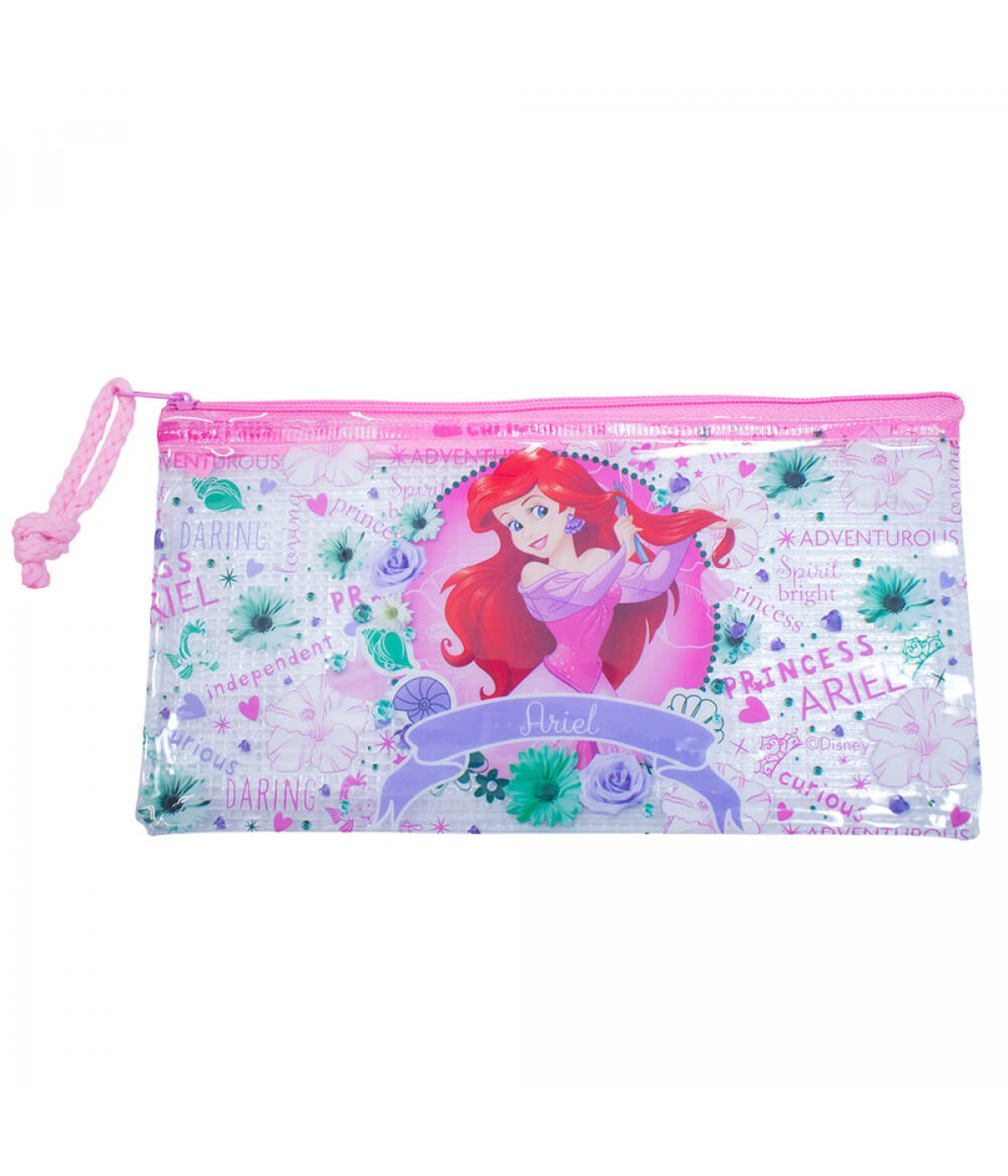 Estojo Necessaire Princesa Ariel