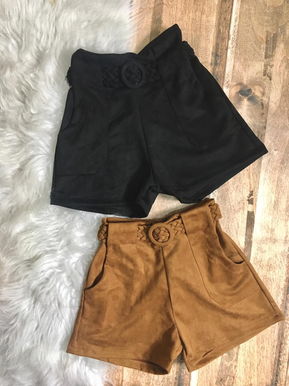 Shorts Suede