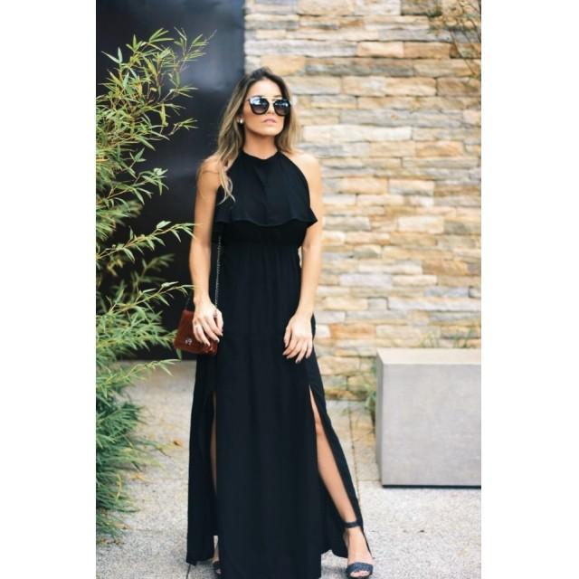 Vestido Angélica Liso