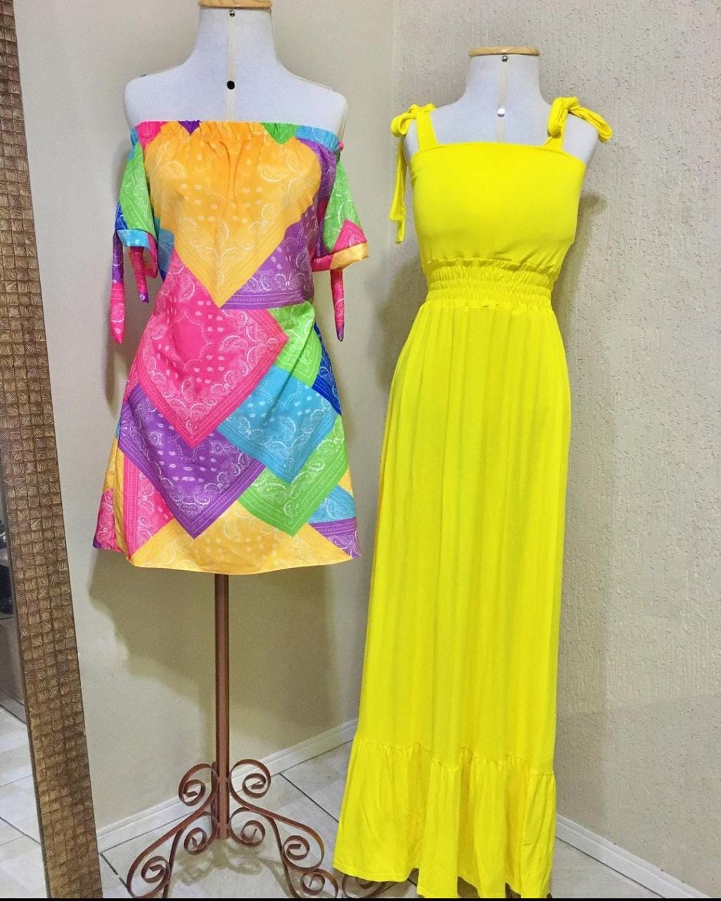 Vestido Bela (Amarelo)