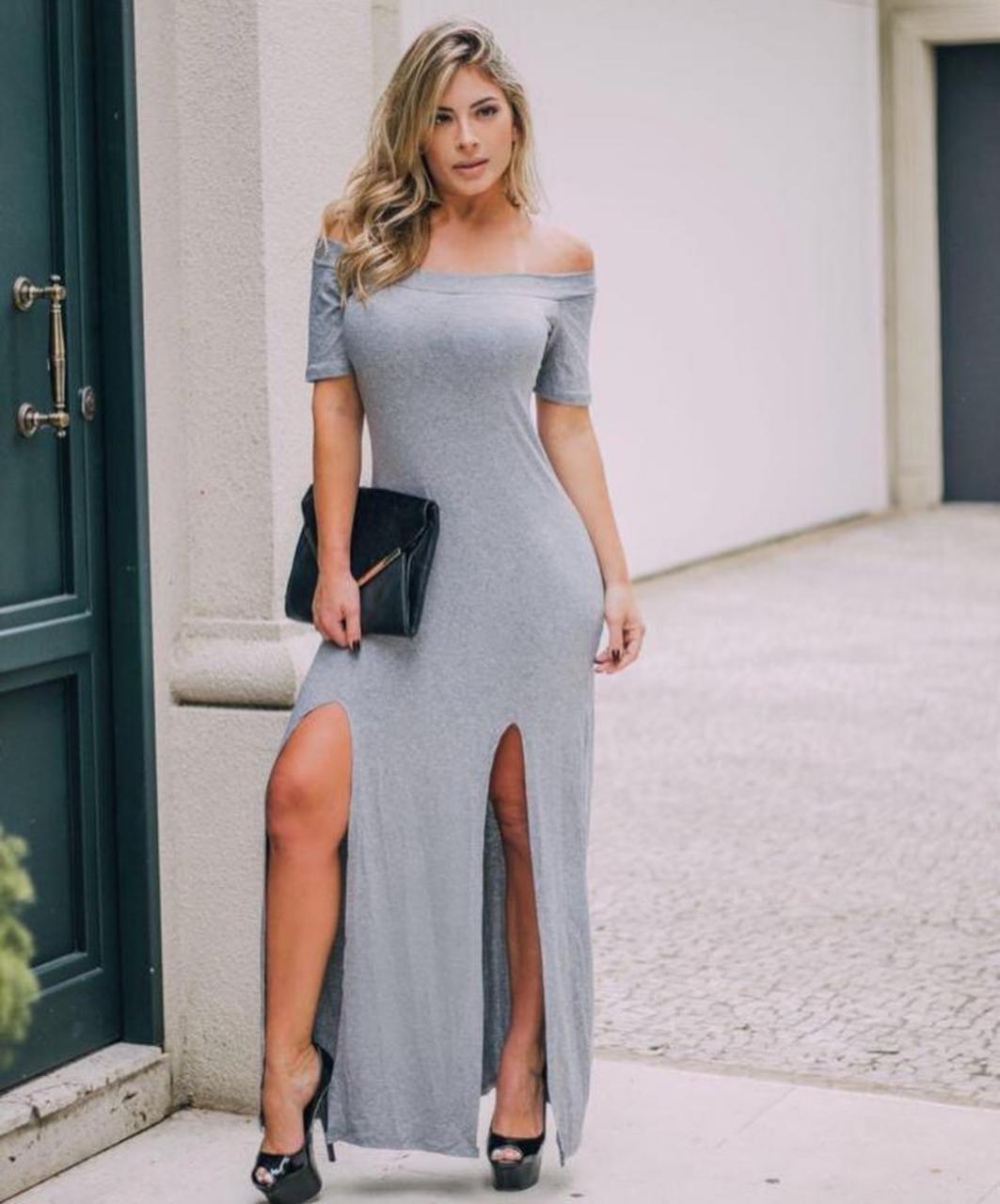 Vestido Canoa (Liso)