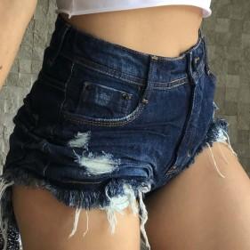 Short Jeans Cintura Alta Original Denim Used