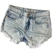 Short Jeans Denim Zero Clean Azul