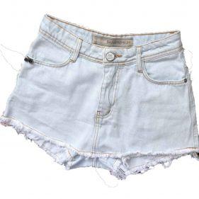 Short Saia Jeans Claro